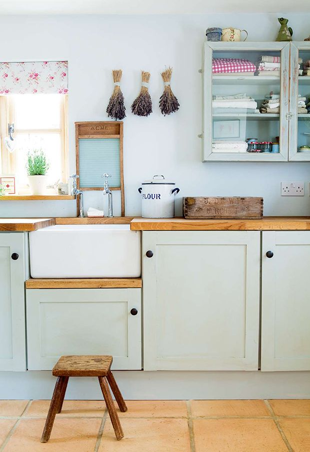 belfast sink in a farmhouse style kitchen                                                                                                                                                      More