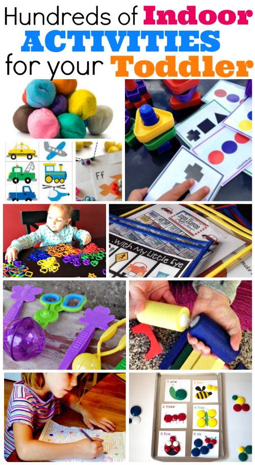 so many great ideas, including some free printables: Indoor Activities For Toddlers - Mother's Niche