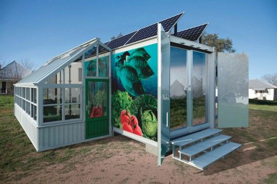 Made From Repurposed Refrigerated Shipping Containers