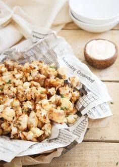 If you love popcorn If you love popcorn shrimp youll love this...  If you love popcorn If you love popcorn shrimp youll love this salt and vinegar popcorn cauliflower. Just as addictive but a lot healthier. Recipe : http://ift.tt/1hGiZgA And @ItsNutella  http://ift.tt/2v8iUYW