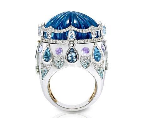 Italian Design Jewellery Circus Ring #brittspick
