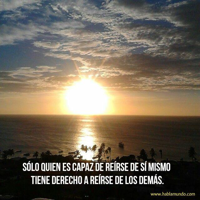 La risa es salud. #enjoy #sun #sunset #espanhol #spanish #Beach #atardecer #growingup #learnlife #travel