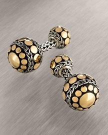 John Hardy Dotted Cuff Links
