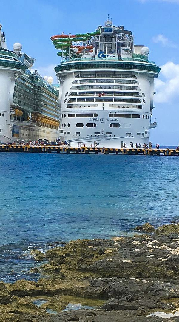 Liberty of the Seas | Cruise on the Freedom Class ship from Galveston, Texas through the Western Caribbean, where you can explore the ancient Altan Ha pyramid in Belize City, dance with the dolphins in Cozumel, soak in the sun on the sandy beaches in Jamaica, and more.