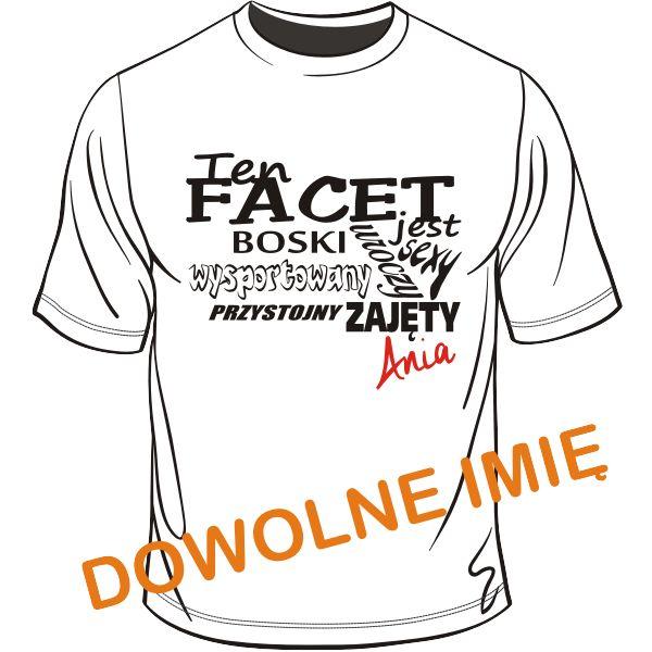 Koszulka dla Faceta Zajęty