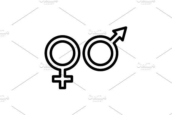 icon gender symbol icon symbols people icon pinterest