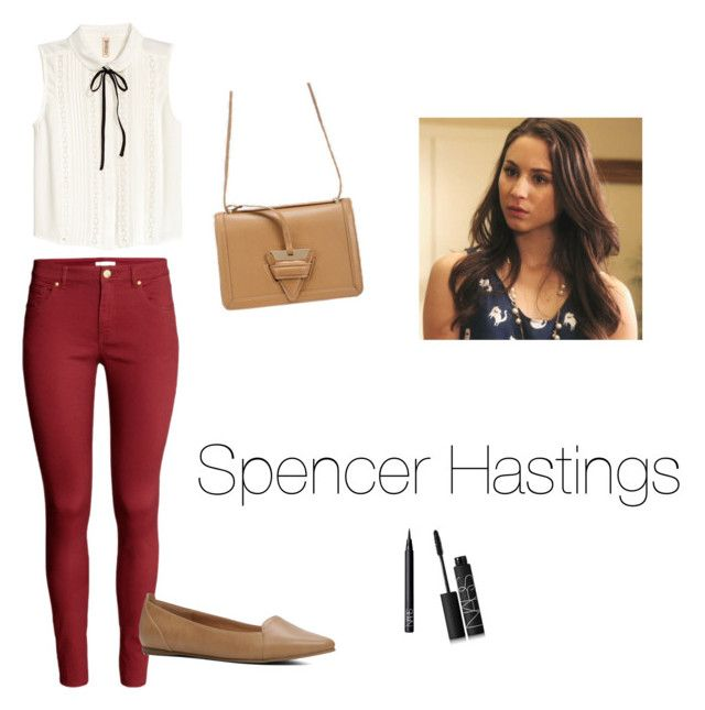 """""""Spencer Hastings Style"""" by saragrodrigues on Polyvore featuring H&M, ALDO and NARS Cosmetics"""
