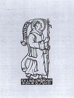 Ex libris di Bruno da Osimo