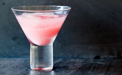 #Epicure Pretty Pink Lady Cocktail #valentinesday