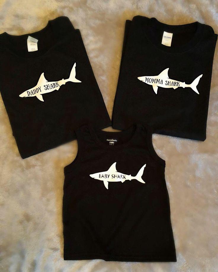 Baby Shark Custom Shirt Family Birthday Matching Party Celebration Mommy dadddy
