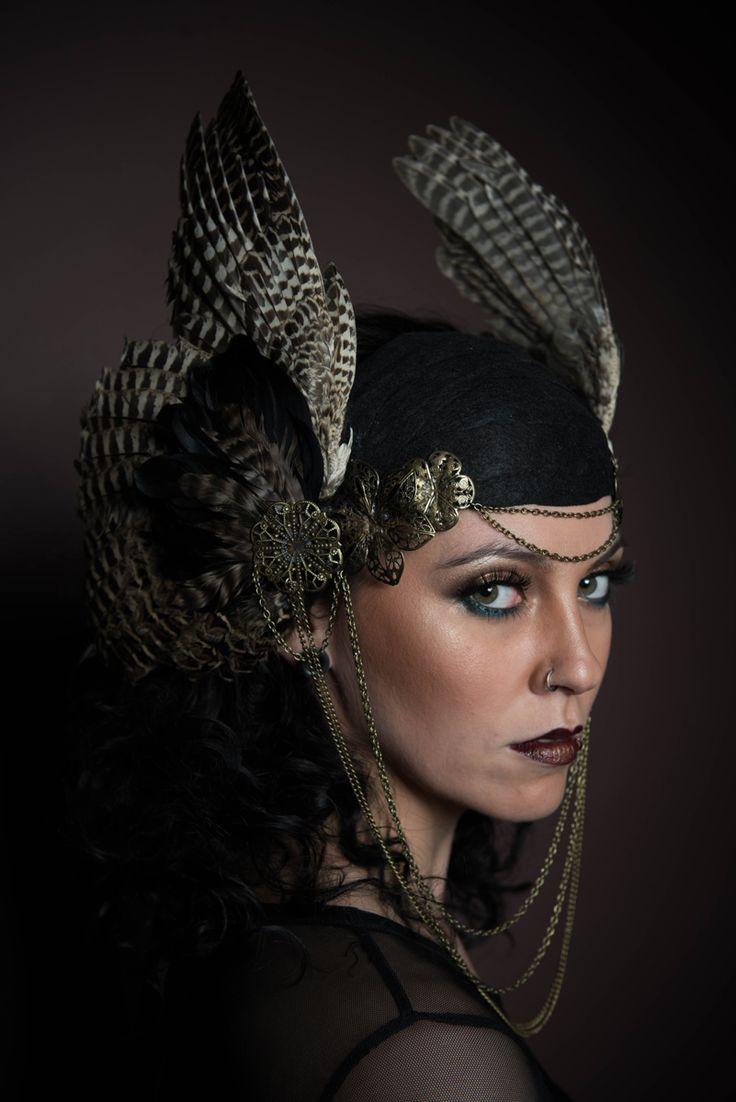 Photographer: Ramona CarraroHeadpiece/Hair/Makeup: Alana AshleyModel: Robyn Rose