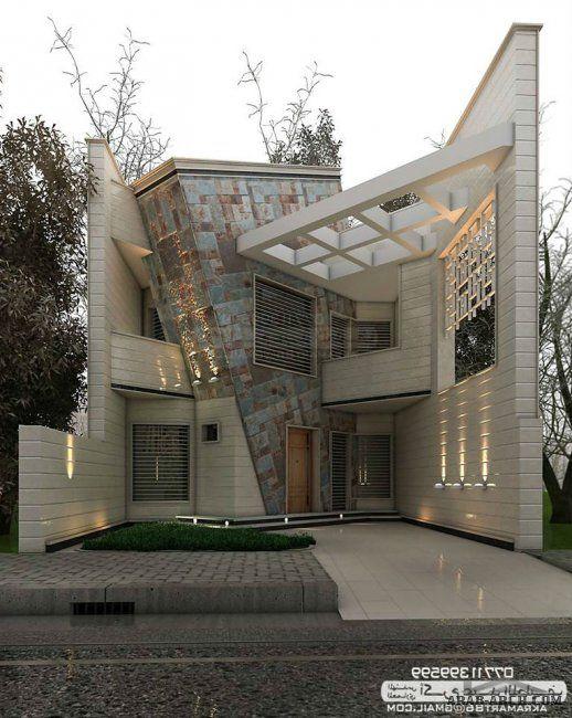 49 Most Popular Modern Dream House Exterior Design Ideas 3 In 2020: مجموعه من التصاميم المميزة للمهندس اكرم عبد اللطيف