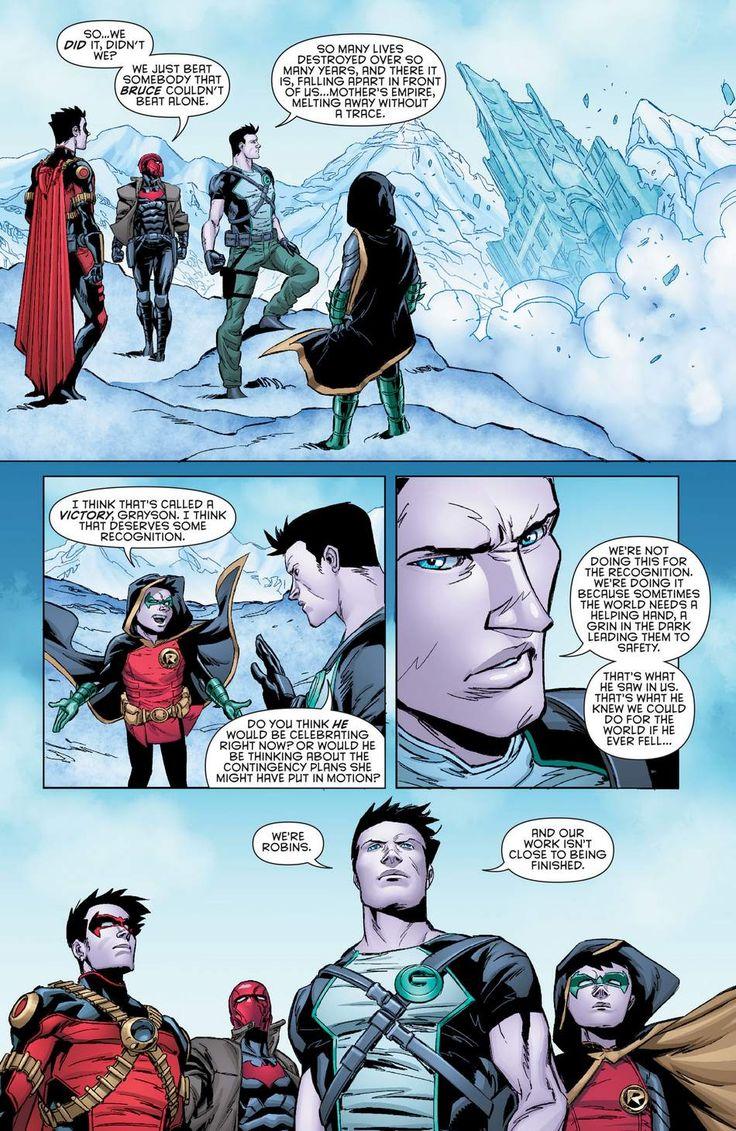 The Robins in Batman&robin eternal book 2