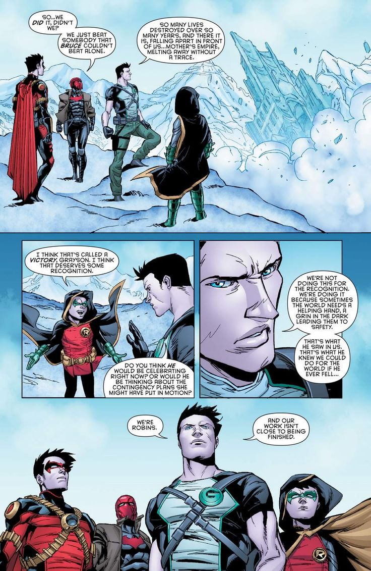 The Robins in Batman&robin eternal book 2