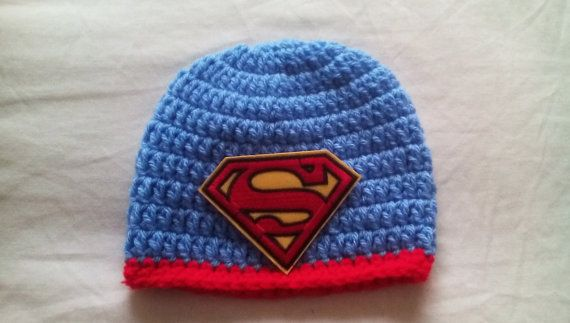 Check out this item in my Etsy shop https://www.etsy.com/uk/listing/277656634/crochet-superman-hat-baby-superman-hat