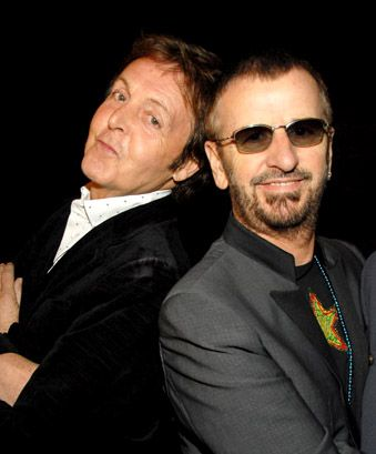 Paul McCartney and Ringo Starr to Perform on the Grammys.  The Grammy Awards are on January 26 at the Staples Center in Los Angeles and will be broadcast on CBS.