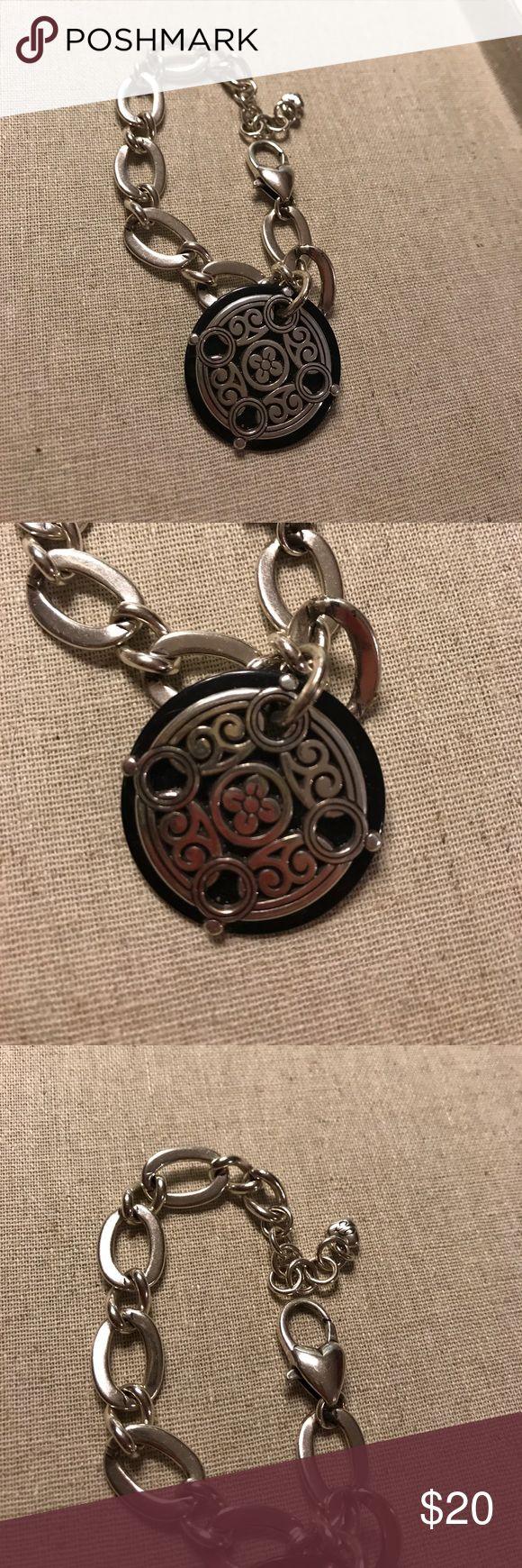 Brighton bracelet with silver and black charm Lovely Brighton bracelet with  silver and black charm Brighton Jewelry Bracelets