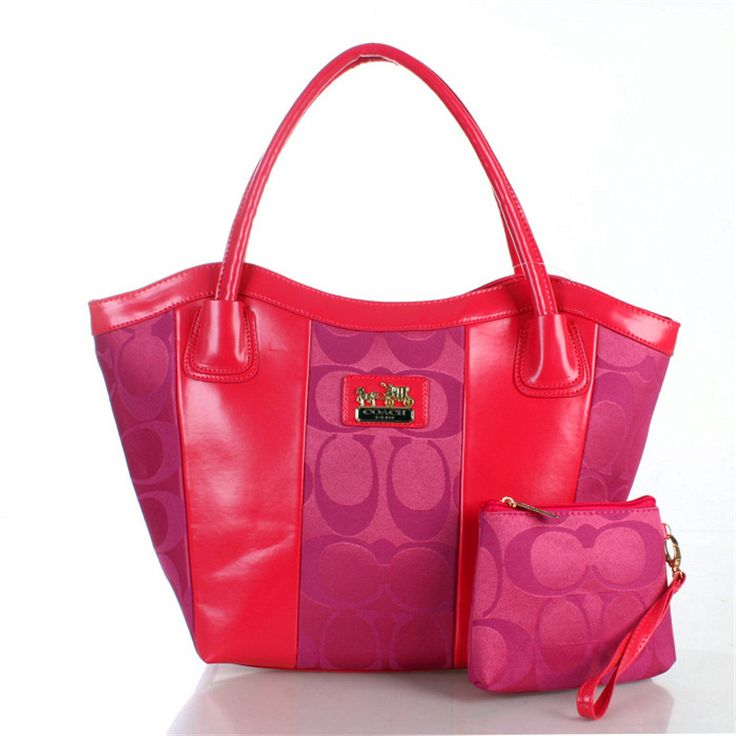 2017 new Signature Pink Coach Bag on sale online, save up to 90% off being unfaithful limited offer, no tax and free shipping.#handbags #design #totebag #fashionbag #shoppingbag #womenbag #womensfashion #luxurydesign #luxurybag #coach #handbagsale #coachhandbags #totebag #coachbag