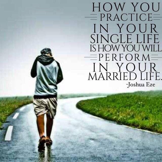 Single Life Vs. Married Life