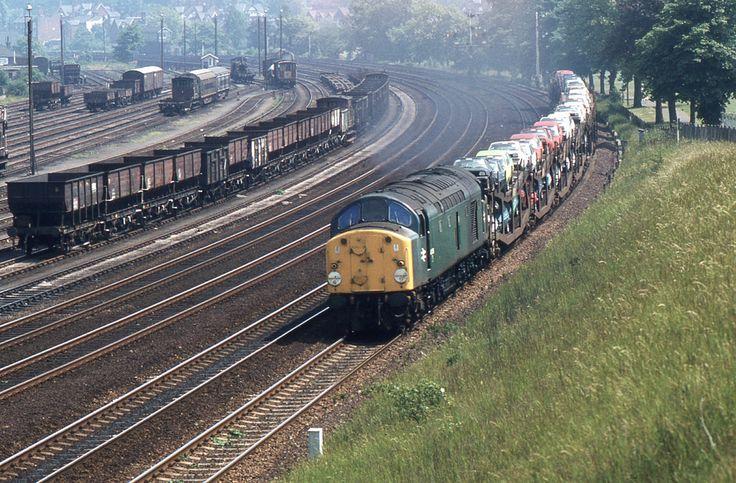 BR Class 40 40038, Ipswich