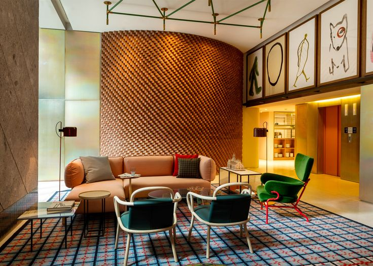Make Photo Gallery Patricia Urquiola designs colourful Milan outpost for Room Mate Hotels chain
