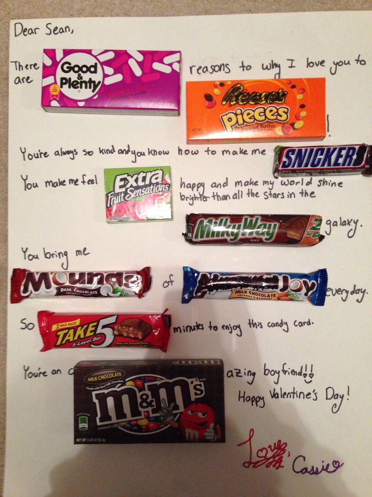 Candy card for my boyfriend. | - 111.5KB