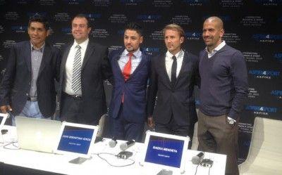Todos los amantes al fútbol soñamos una vez con volver a ver esas grandes estrellas como Zidane, Hierro, Beckham, Roberto Carlos o Figo pues la vida nos sonríe. EL mundial de veteranos esta cerca. El día de ayer en Berlín tras la convención Aspire4Sports, se llegó al acuerdo para presentar el primer mundial de veteranos …