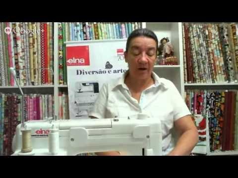 Patchwork Ao Vivo com a Tia Lili #4 - YouTube QUILTING - RETO E LIVRE
