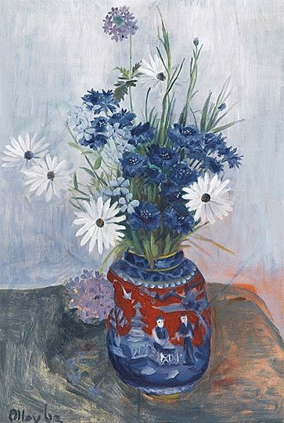 Cornflowers and Daisies 1962 - Margaret Olley