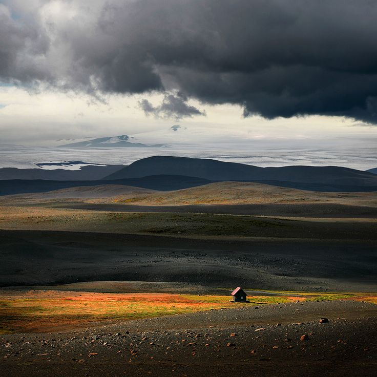 'Secret House Against the World'  by MoroClouds, Favorite Places, Feelings Spaces, Colors, Beautiful Landscapes, Secret House, Beautiful Pictures, Iceland Secret, Deserts