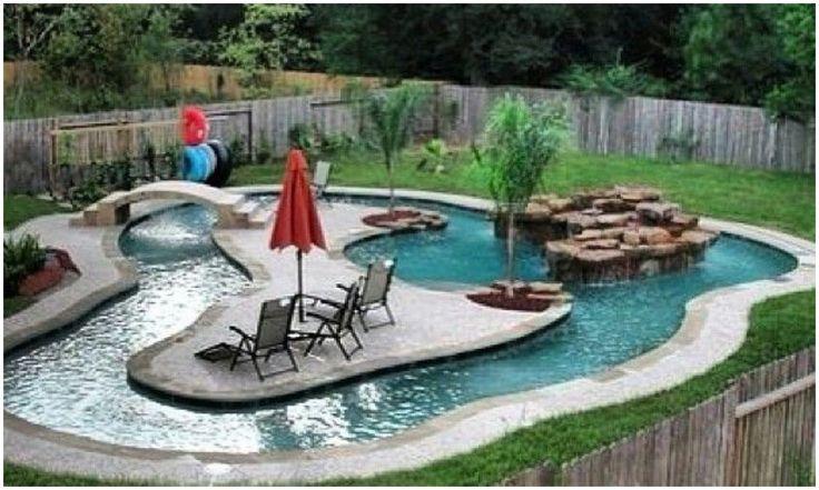 Image result for backyard lazy river design   Backyard ...