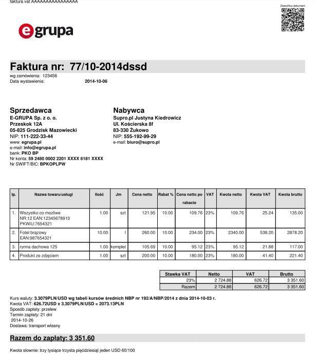 QR code na fakturze = bezpieczeństwo transakcji - afaktury.pl