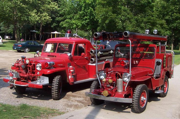 the CJ3A Page | Fire Jeeps and Trucks