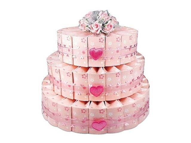Cherry Blossom - Three Tier Sweetheart Favor Cake Kit