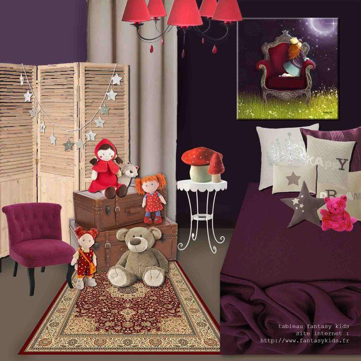 Les 16 meilleures images du tableau tableaux chambre for Tableau chambre petite fille