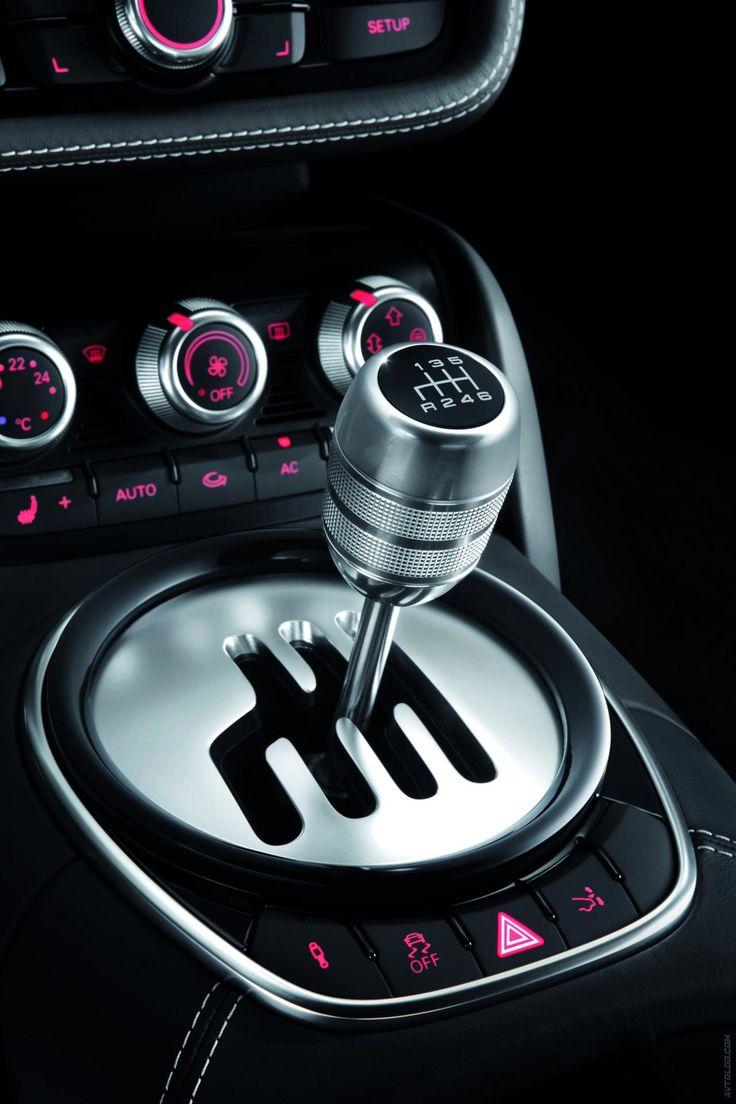 Love the pink lights! 2013 Audi R8