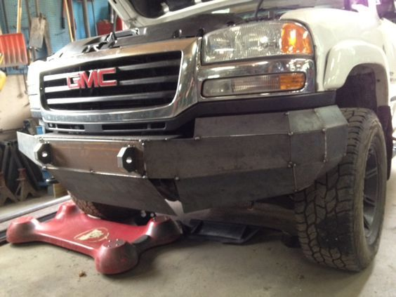 Image result for diy truck front bumper