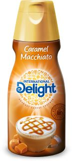 Coffeehouse-Inspired, Caramel Macchiato International Delight Creamer