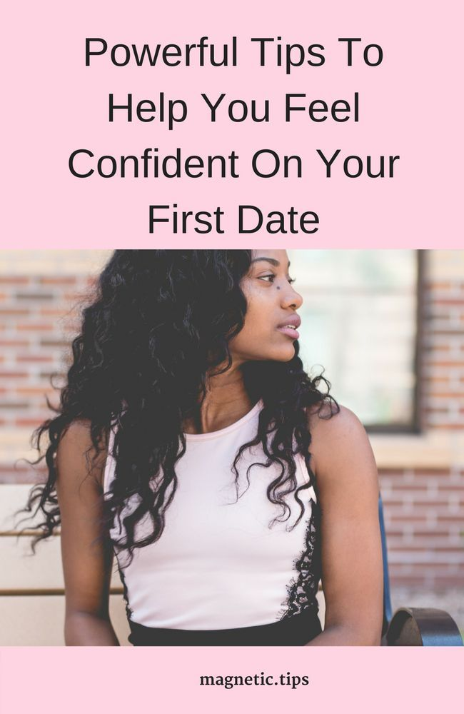 dating confidence tips