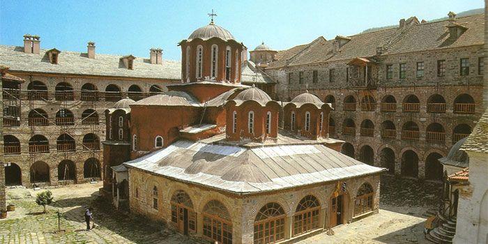 VISIT GREECE  Monastery of Koutloumousiou in #Athos #Macedonia #Greece
