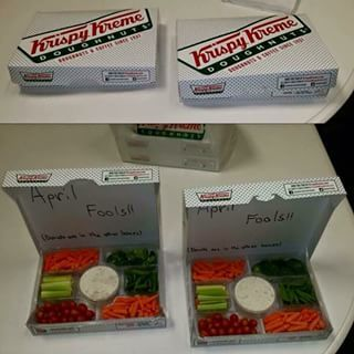 And committing this vicious act of cruelty.   23 Office Pranks That Went Way Too Far