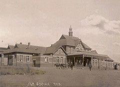 Pietermaritzburg Station in 1898.