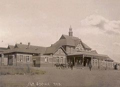 Pietermaritzburg Station in 1898.