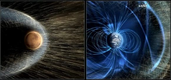 NASA Proposes A Magnetic Shield to Protect Mars' Atmosphere - Universe Today