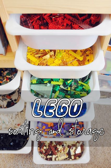 My 4 Misters & Their Sister: Lego OCD - Sorting & Storage