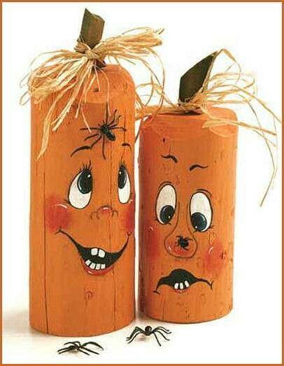 Pumpkin post