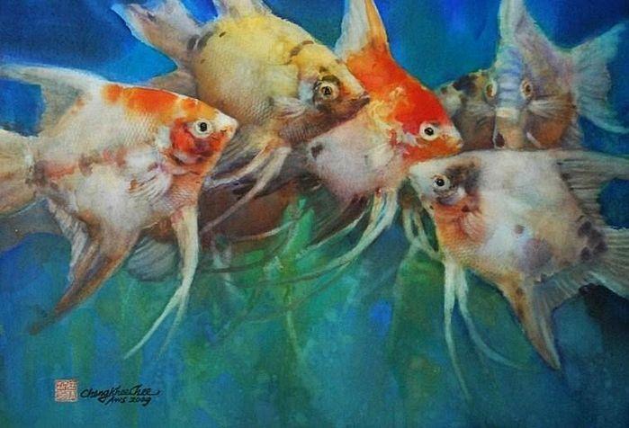 Artodyssey: Cheng-Khee Chee - Watercolor