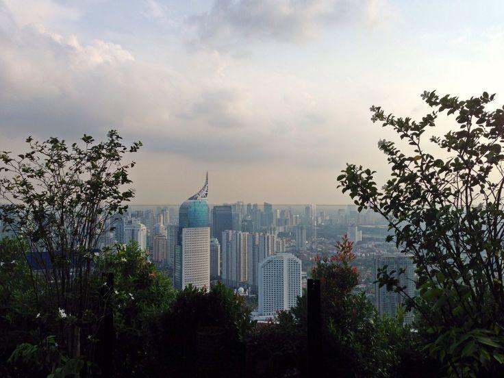 Taken from Skye Bar & Restaurant, Menara BCA 56th Floor..  Jakarta, Indonesia