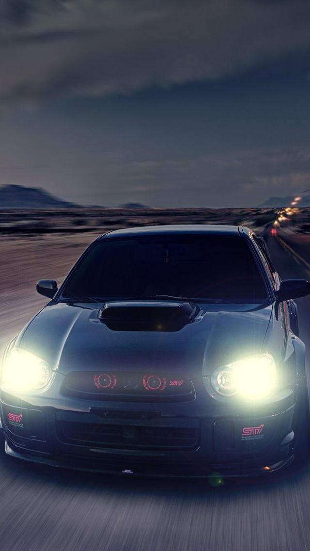 Subaru Impreza WRX STI iPhone 5 Wallpaper Download | iPad Wallpapers & iPhone Wallpapers One-stop Download