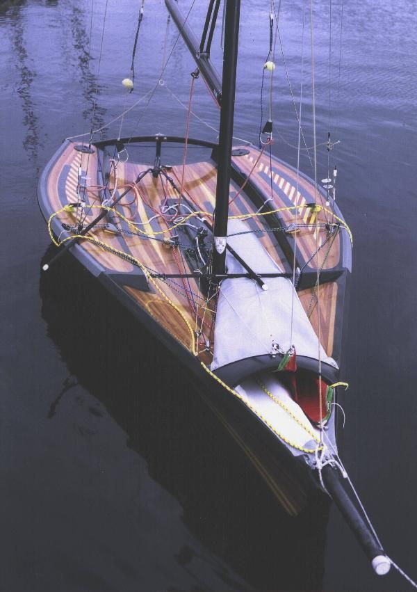 Thanks to Hold Fast for pointing me to another boat I'd like to sail. I have previously posted about the RS700 and the Musto Skiff whic...